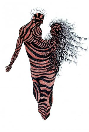 Copper Zebra Couple - Jesse Morris