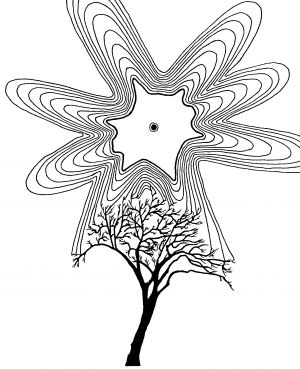 Fractal Sun and Tree